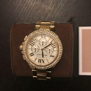3560994413a9 Michael Kors Accessories - Brand new Michael Kors Women s Gold Watch MK5756